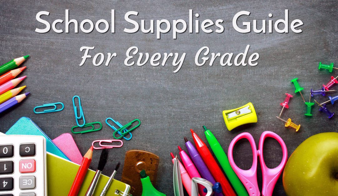 18-19 School Supply Lists