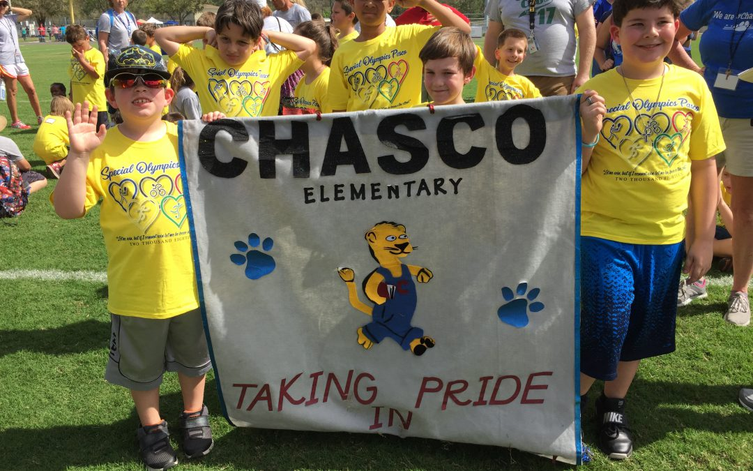 Congratulations Chasco Special Olympics Participants!